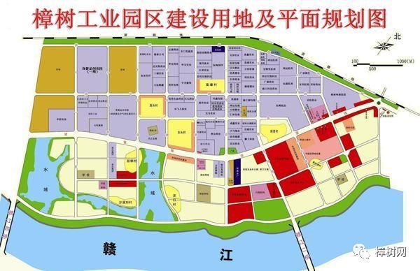 城北开发区规划图