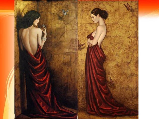 人体艺术bb深勾_美国女画家人体油画中的女子妩媚性感,勾人心魄!