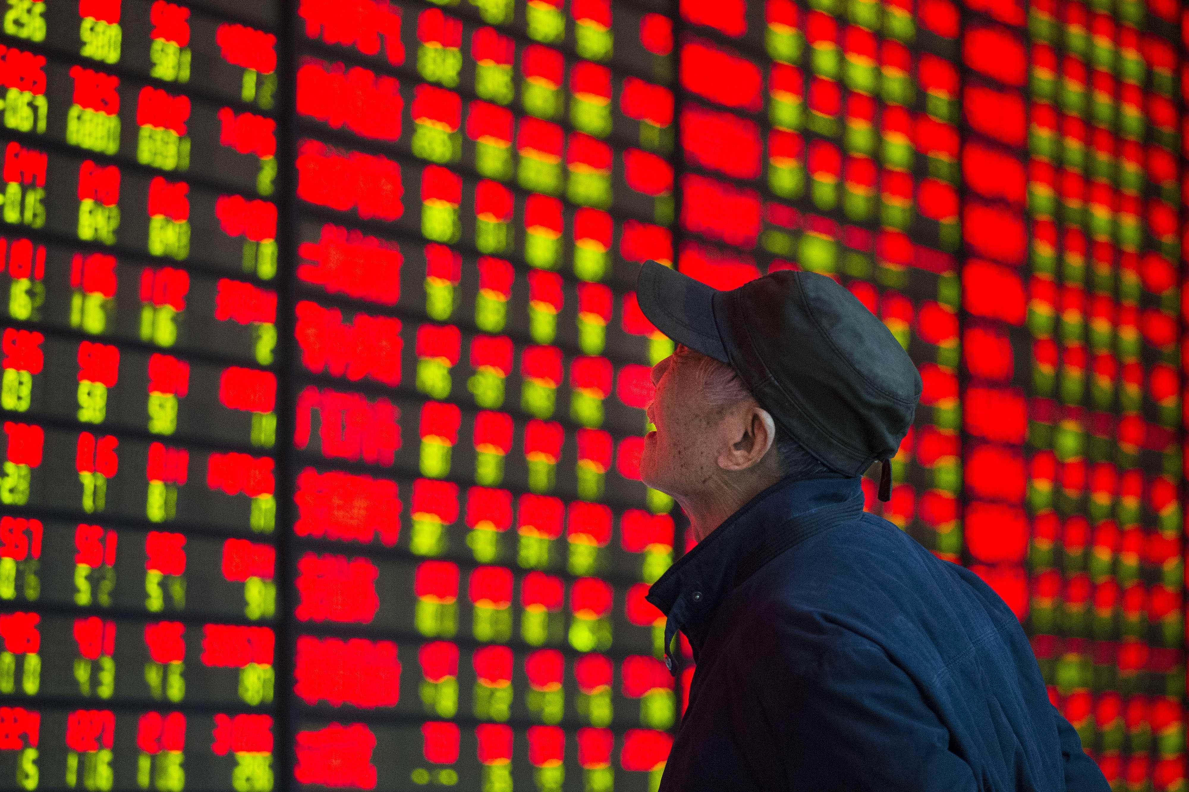 乐视网、中弘股份逆市涨停,问题股为何成A股主角?