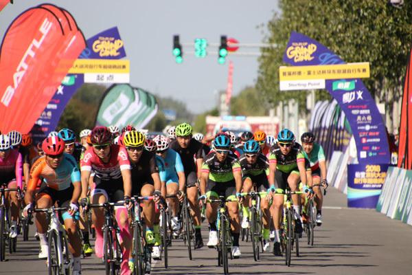 首届杯环东丽湖自行车赛_中国选手摘得个人冠军