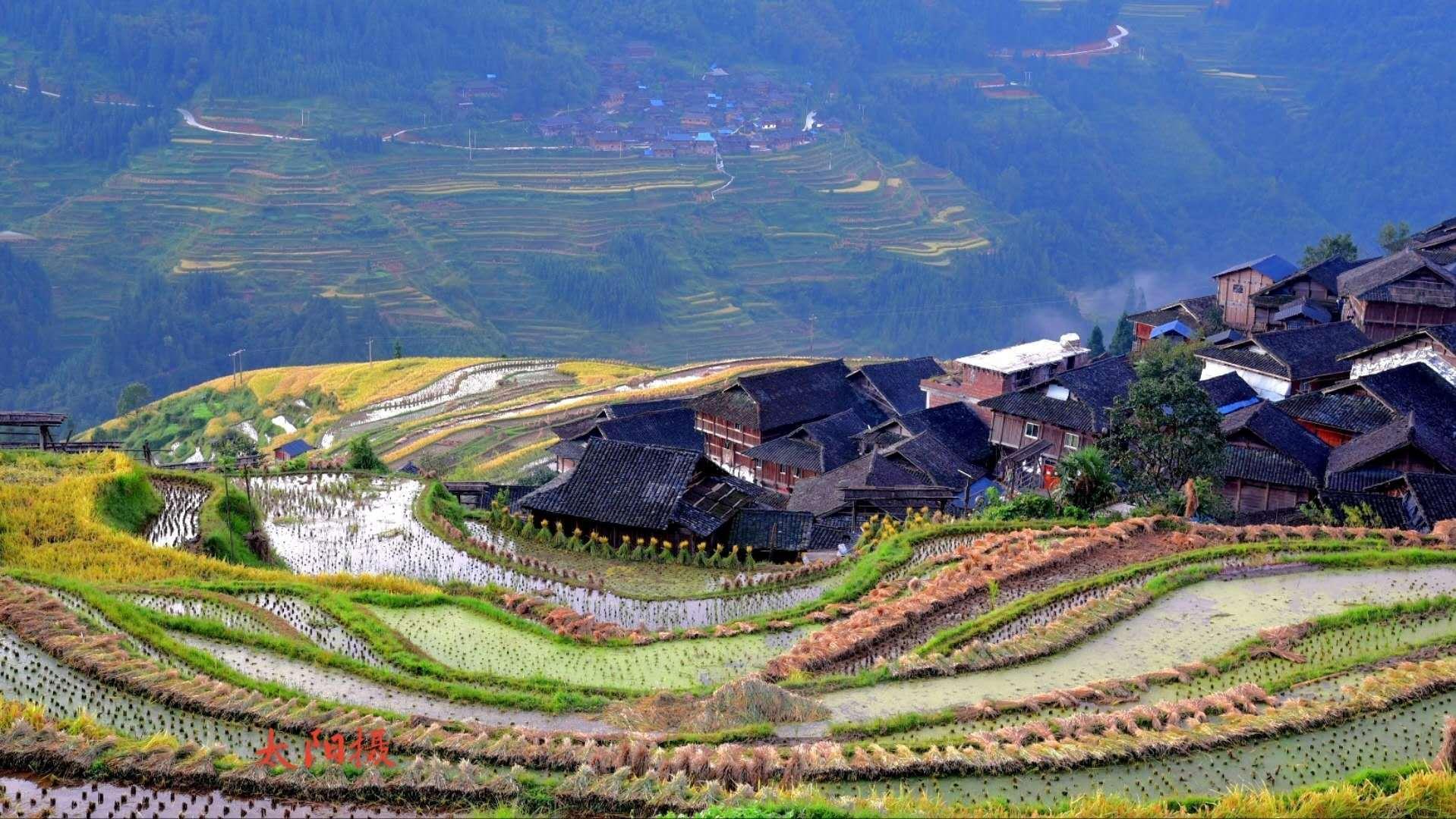 太阳房车自驾游中国:景美人少的云上梯田,贵州丛江的人间仙境