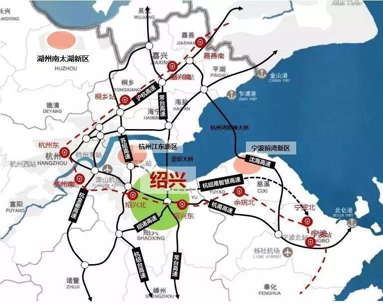 杭绍甬一体化,以后请叫绍兴大都市!