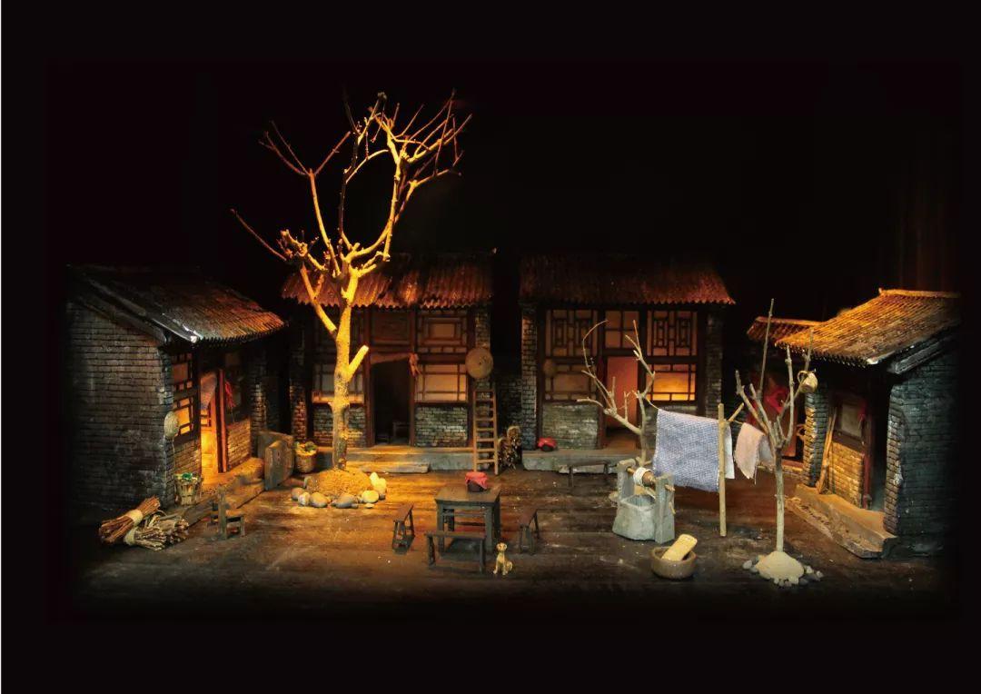 (上海电影艺术学2010级舞台美术设计毕业作品.)