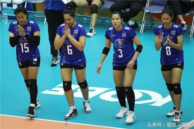 励志!泰国女排连伤两大主力仍3比1胜欧洲劲旅,