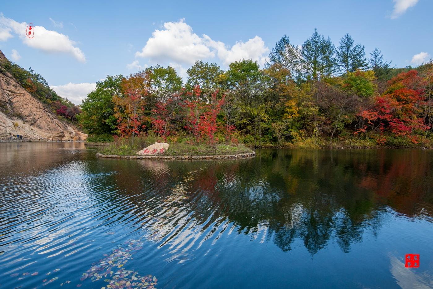 大石湖 秋色中的人间仙境