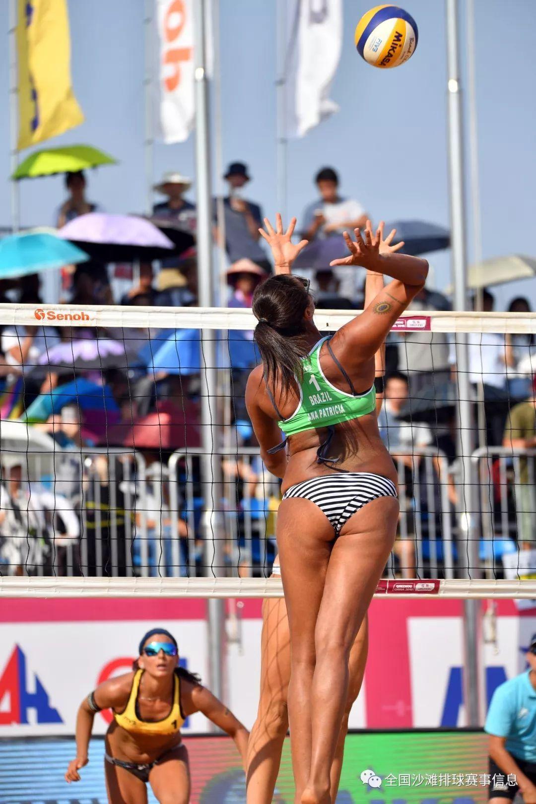 2018年世界沙滩排球巡回赛钦州站圆满结束