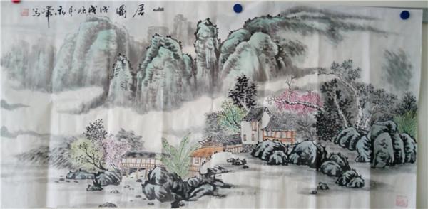 北京墨韵轩成功举办庆国庆讴歌新时代书画笔会
