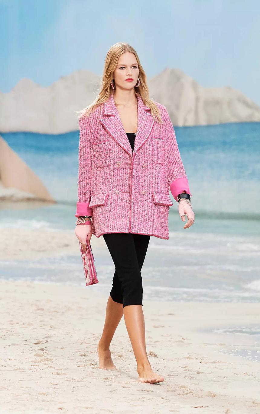 巴黎時裝周唯美與浪漫的海灘大秀,張鈞甯、馬思純亮相再次圈粉!