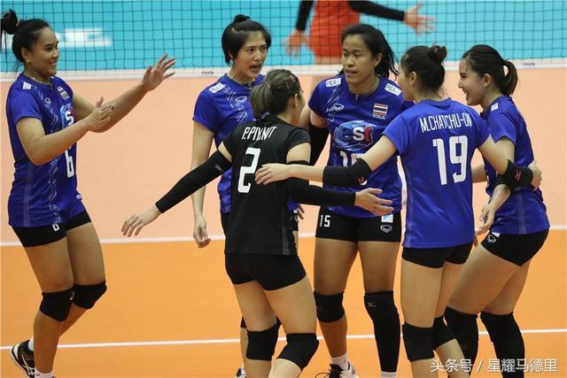 励志!泰国女排连伤两大主力仍3比1胜欧洲劲旅,16强赛将狙击中国