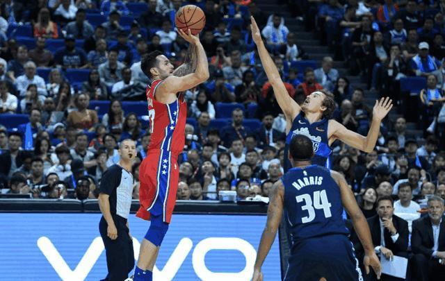 NBA中国赛雷迪克嘘声中爆发,苏群:东契奇堪称欧洲魔术师
