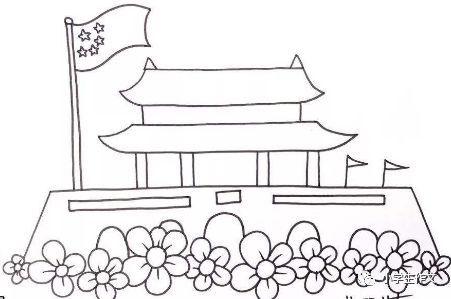 班主任推荐:国庆节作文+游记范文+手抄报模板+简笔画!图片