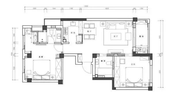 肥西县当代中式家装组图