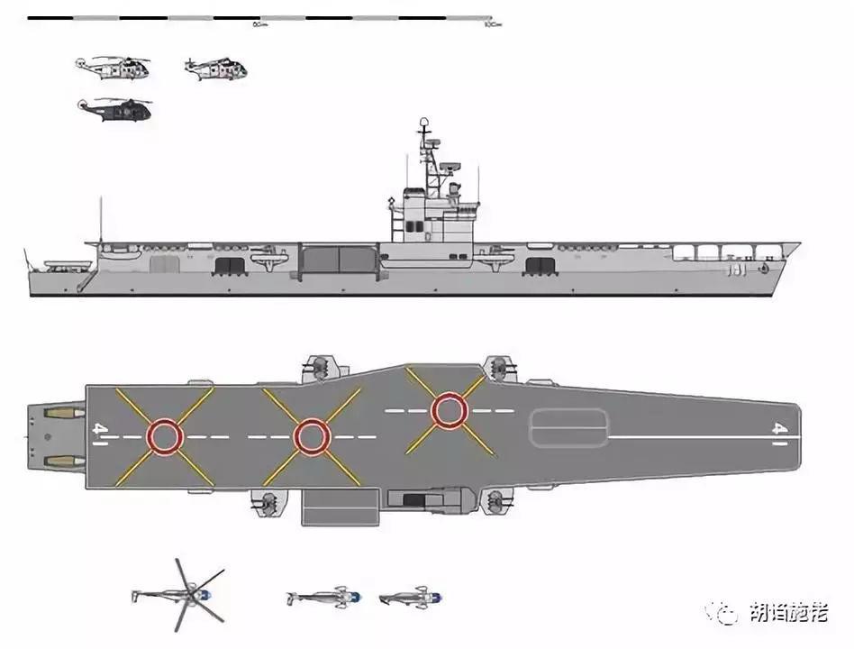 直升机航母反潜的原理_多年航母白日梦 日本四代直升机航母同时出镜