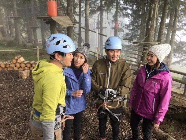拍旅游特辑时挑战滑翔伞 TVB力捧小生被好友踢爆又晕又吐
