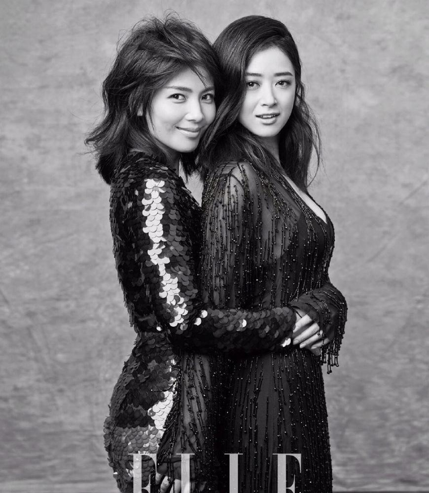 光看发型就知道她们演的是蛇妖,刘涛和蒋欣你更喜欢谁