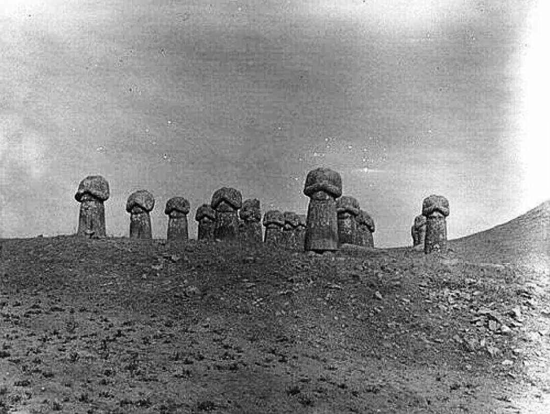 清末乾陵、明孝陵、十三陵照片对比明孝陵石像生最完整