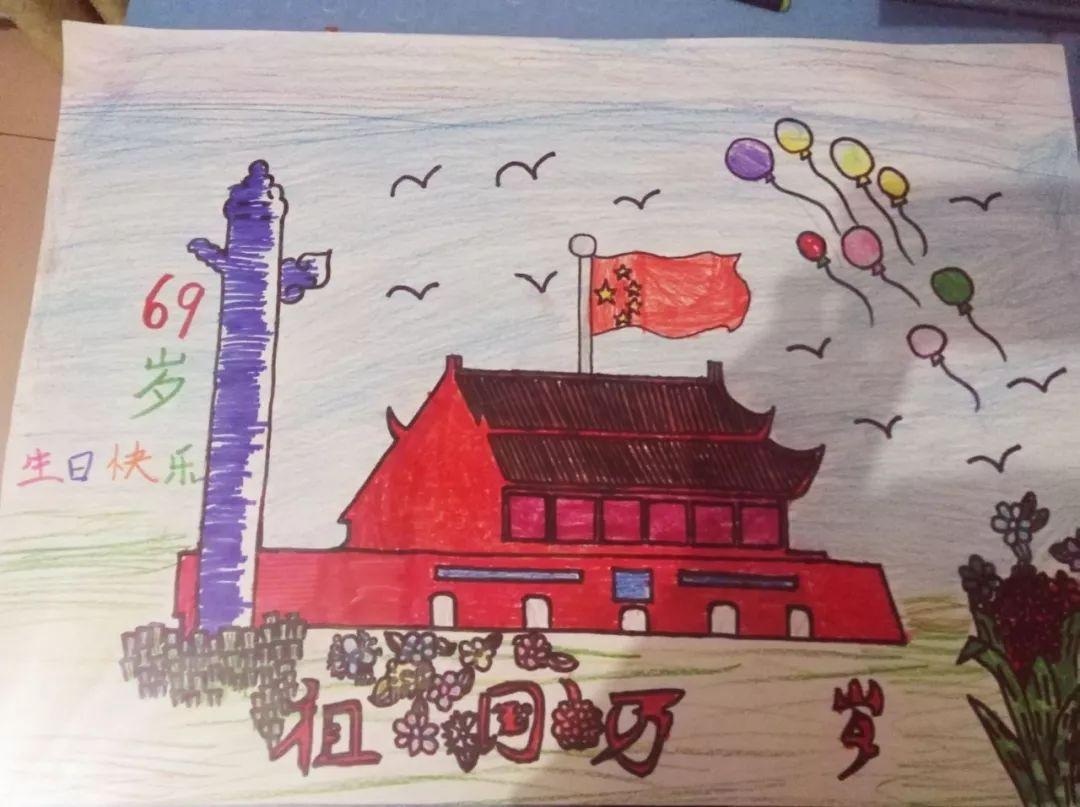 """警法 正文  四至六年级""""国庆专刊""""手抄报,以""""我与爸妈画祖国新变化"""""""