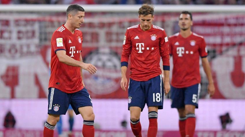 西甲足球 拜仁评分:莱万穆勒蒂亚戈不及格 诺伊尔最高分