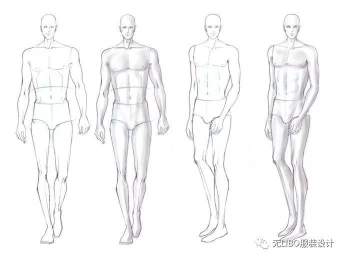 服装人体_300例(男.女.童)服装人体素材送给你