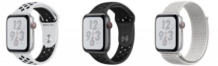 苹果Watch Nike + Series 4现已进入商店,但质量有限
