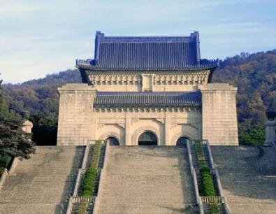 旅游 正文  中山陵位于南京市玄武区紫金山南麓钟山风景区内,是中国近