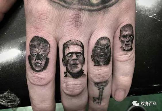 社會人手指紋身 有夠霸氣