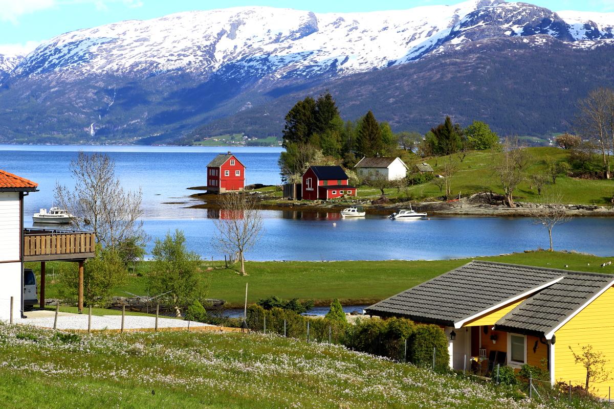 挪威,一個美麗的國家!