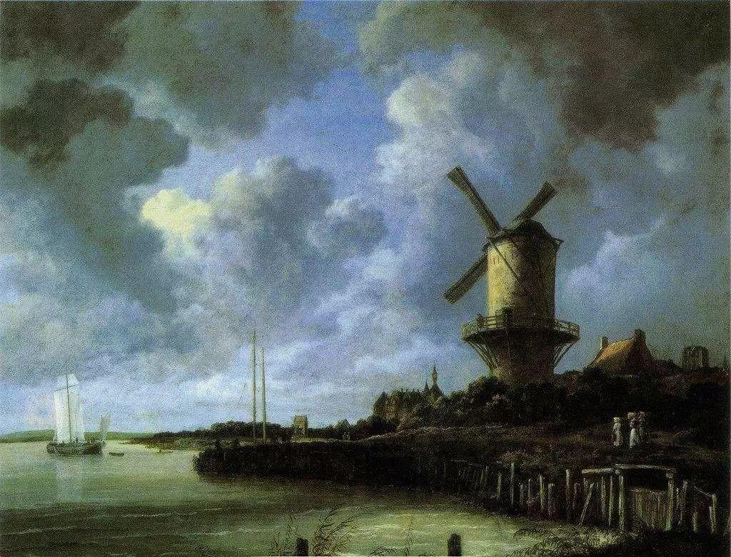 西方艺术介绍——西方画家的风景画