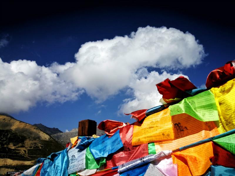 国庆大雪后,折多山日出,云海,佛光美极了! 川藏线旅游攻略 第8张