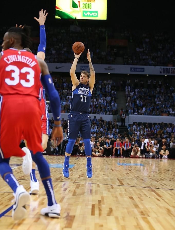 快攻和内线得分都占优_NBA中国赛76人为什么不敌独行1.76复古合击私服侠