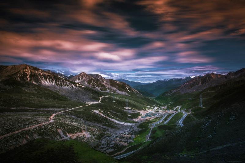 国庆大雪后,折多山日出,云海,佛光美极了! 川藏线旅游攻略 第3张