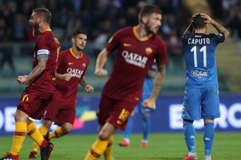 居伦 意甲-哲科进球罗马2-0恩波利 蓝鹰1-0佛罗伦萨