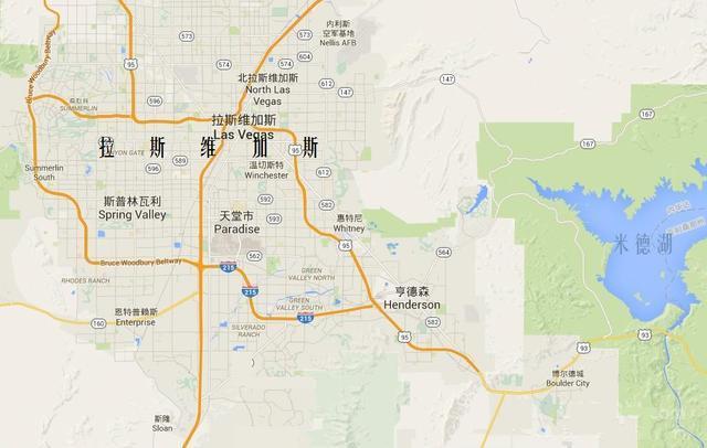 """赌城之拉斯维加斯_拉斯维加斯:美国内华达州的沙漠赌城,被誉为""""世界娱乐之都 ..."""