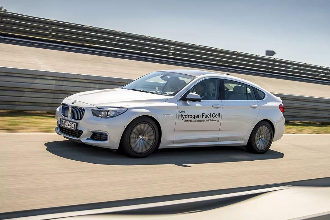 宝马5系gt氢燃料电池研究用车可跑483km