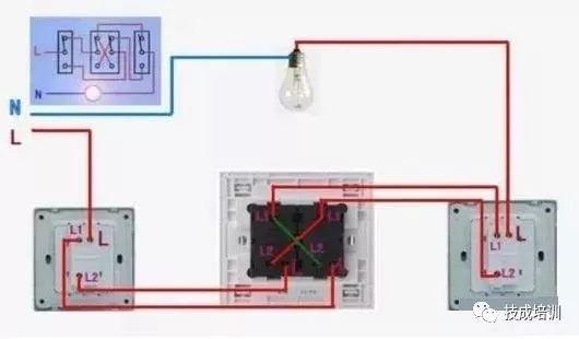电工必备 单控 双控 三控 四控开关的接线,学会不求人