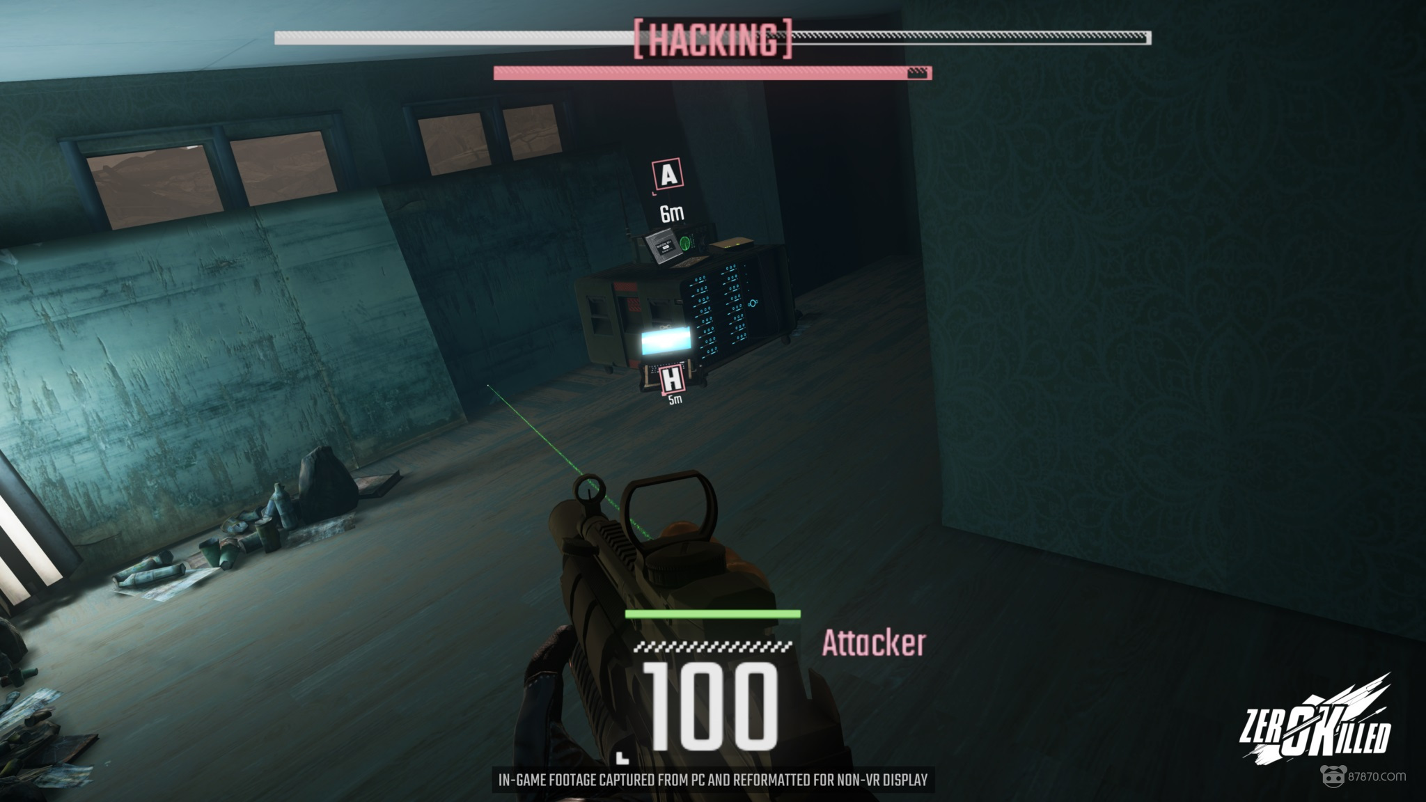 Vr射击游戏zero Killed上线steam Early Acc玩家