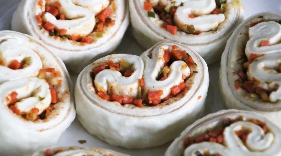 中秋馍馍当月饼
