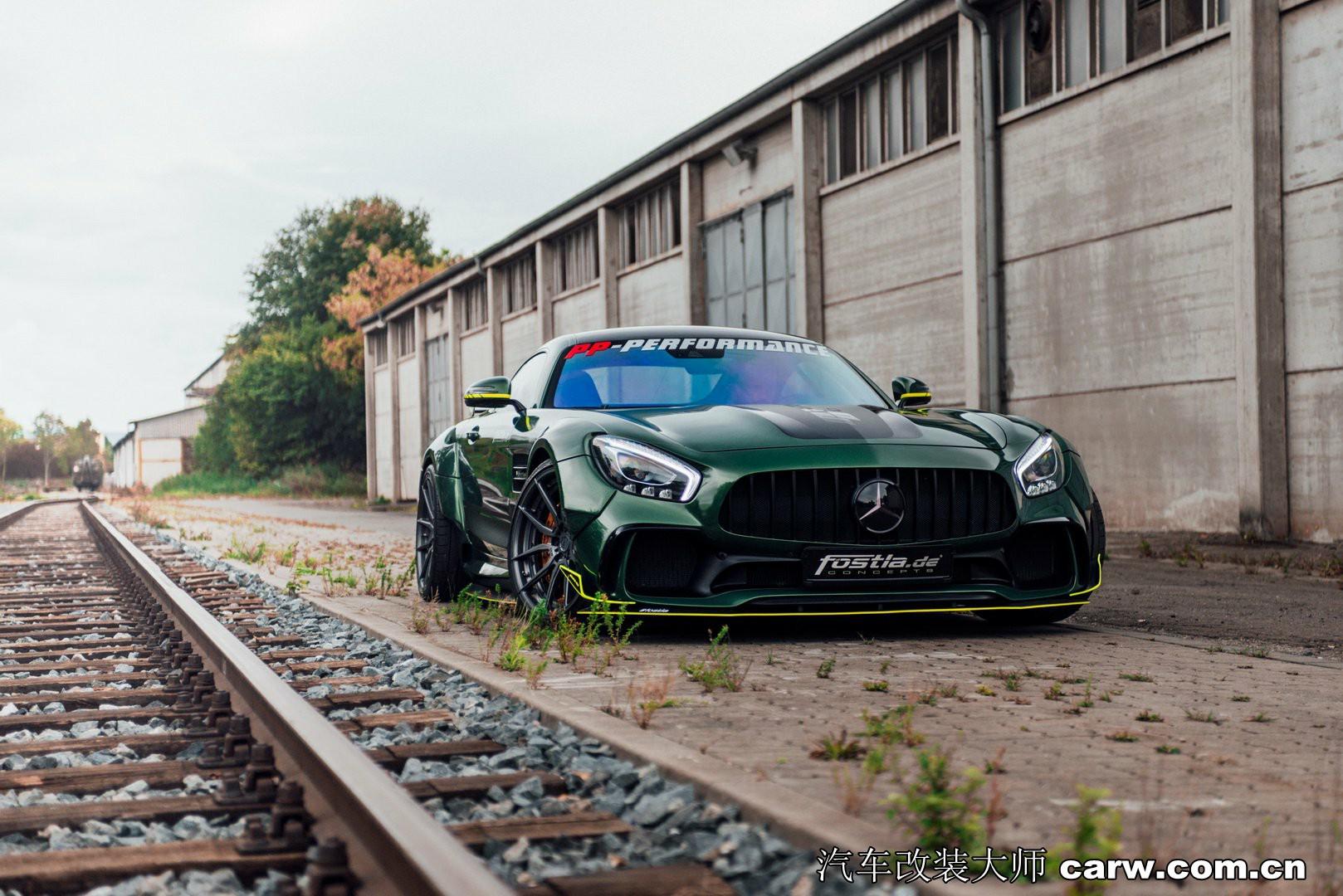 梅赛德斯 - AMG GT S狂野改装大片欣赏