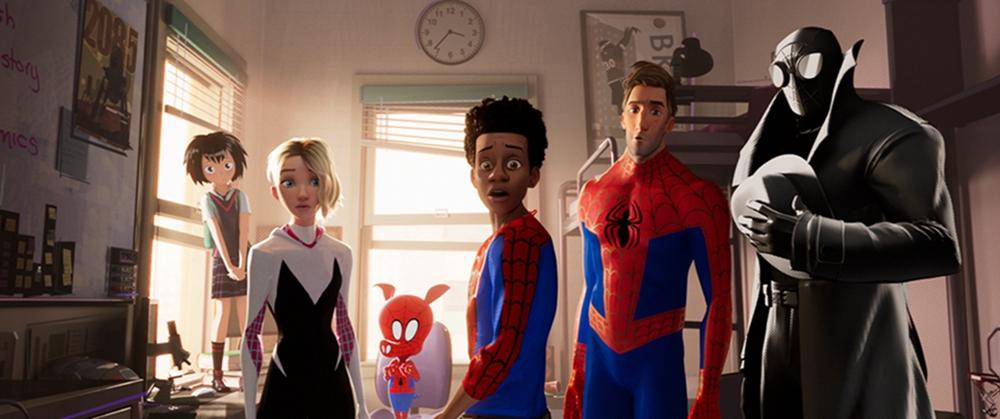 《蜘蛛侠:平行宇宙》发新预告 六大蜘蛛侠跨宇宙同