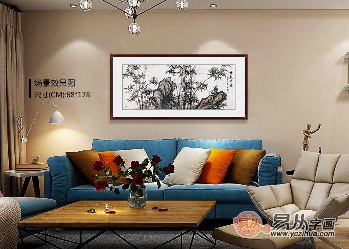室内客厅装饰挂画,石荣禄精品花鸟画更上档次