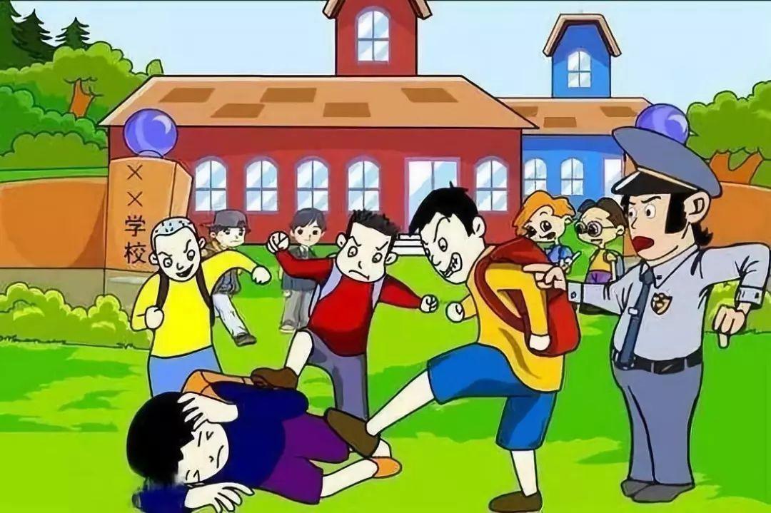 河北一群中学生对一小学生进行殴打并录视频,理由令人汗颜