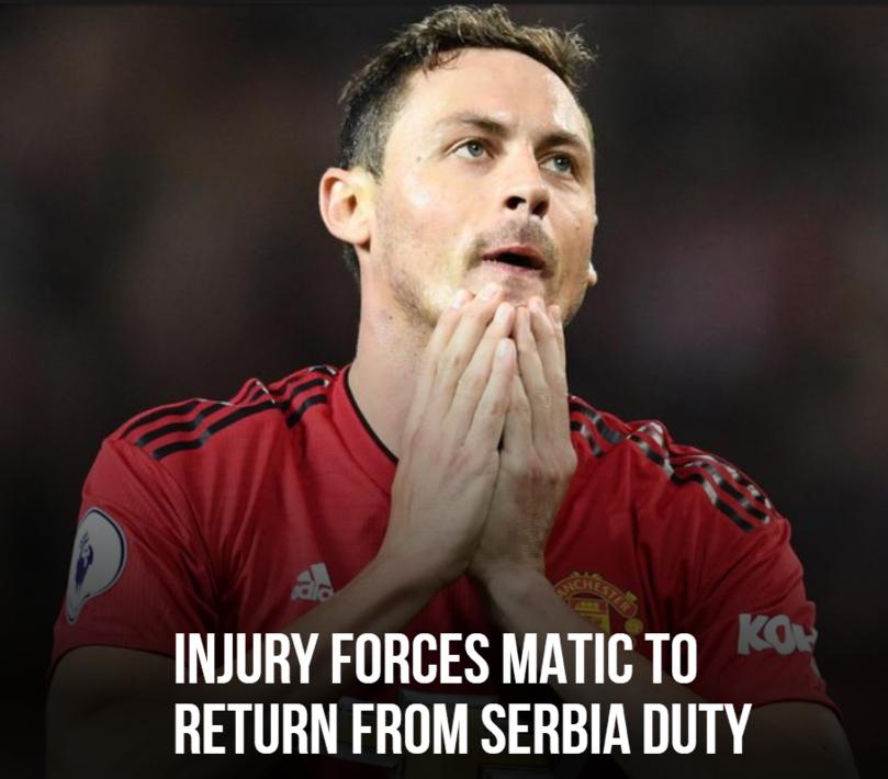 官方:马蒂奇因伤退出塞尔维亚国家队集训