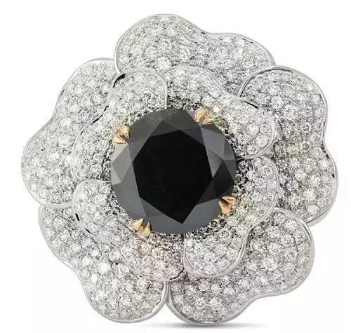 黑钻的二三事 ,彩色钻石里的特殊钻石
