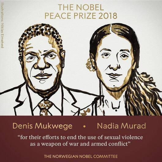 今年诺贝尔和平奖给了她:自揭苦难伤疤的勇敢女孩