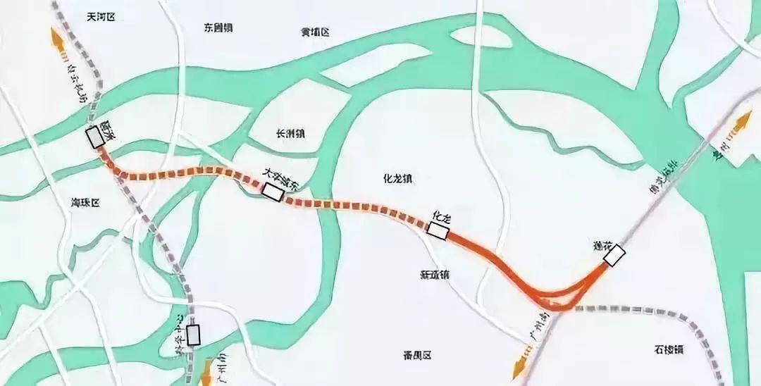 广州白云一线规划图