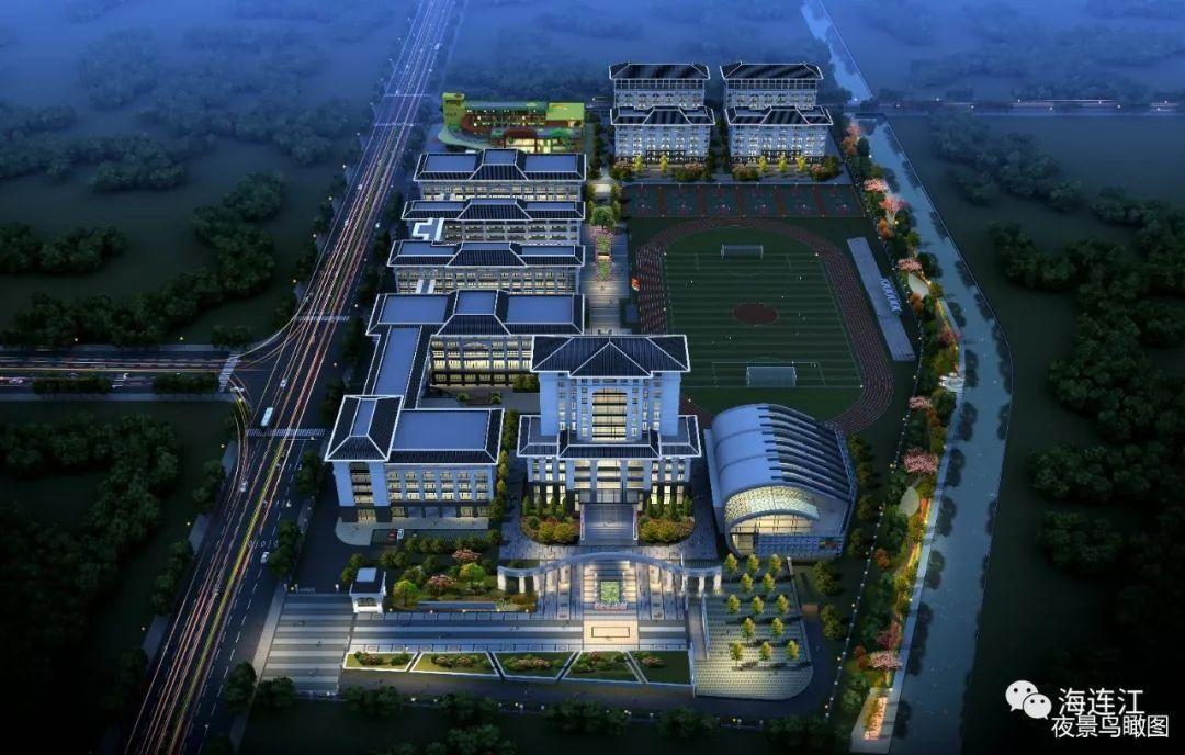 连江职专新校区规划图首度亮相,还将新建一幼儿园.