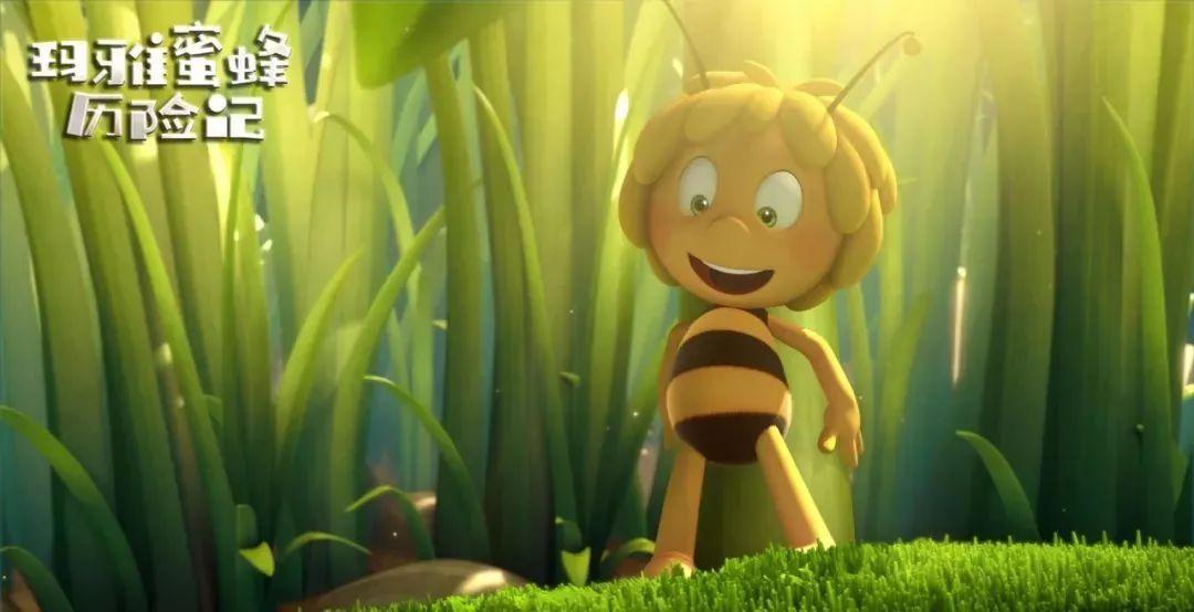 《玛雅蜜蜂历险记》小蜜蜂啪啪回来啦!青蛙玛雅啪图片