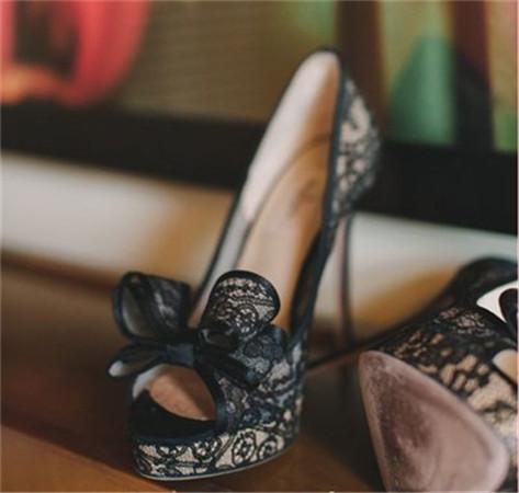 婚纱鞋_婚纱图片唯美