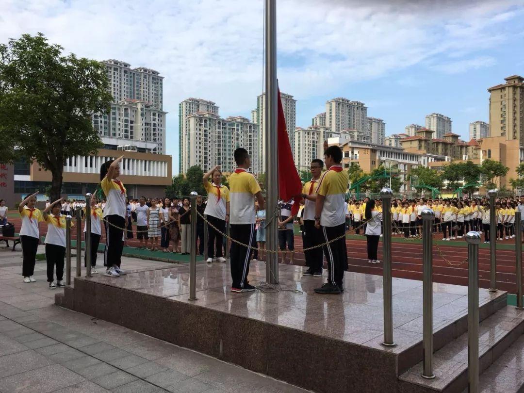 马尾区开展 向国旗敬礼 活动