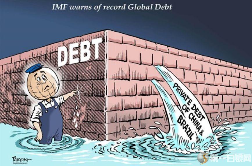 182万亿美元,全球债务再破纪录!美国1年的利息就要5230亿美元?怎么
